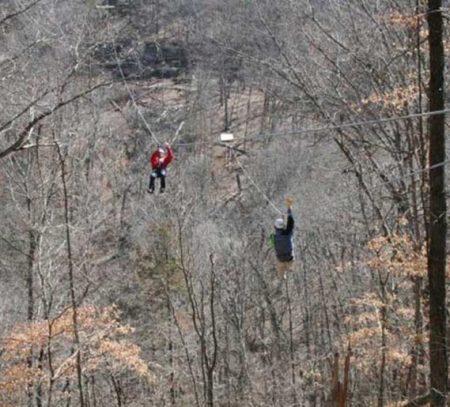 Eureka Springs zipline