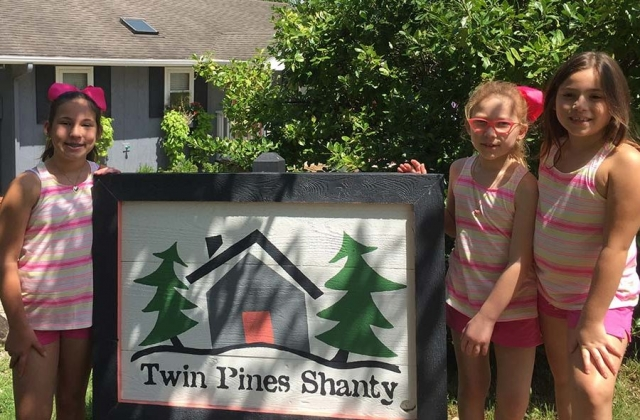 Cuties staying at the Shanty!