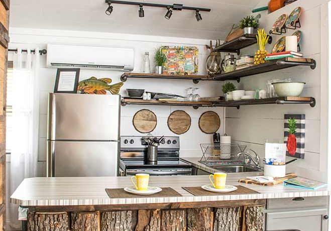 Lil Woody kitchen