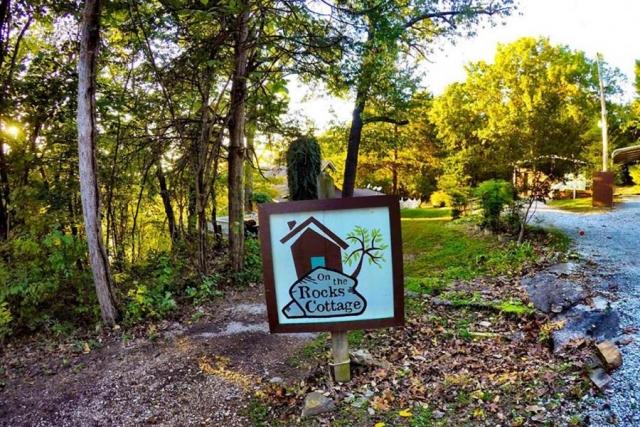 On The Rocks Cottage sign