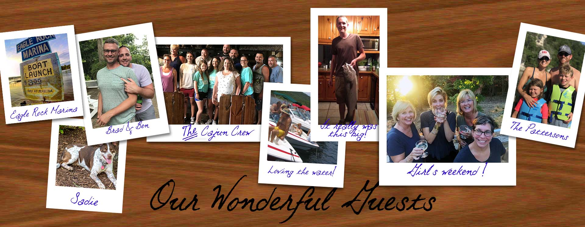 Our Guests Pics photo gallery header images
